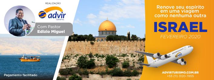 Israel – Fevereiro 2020 (com pastor Edízio Miguel)